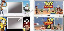 Nintendo Ds Lite-Toy Story 3 - 4 Piezas calcomanía / etiqueta engomada de la piel