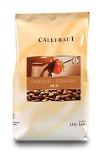 Callebaut Milk Fountain Chocolate Chips 2.5kg especially for chocolate fountains