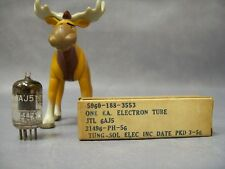 Tung-Sol 6AJ5 Vacuum Tube Military Packed 3/1956