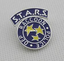 RESIDENT EVIL STARS S.T.A.R.S. RACCOON DEP. POLICE LAPEL PIN