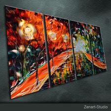 Original Metal Wall Art Handmade Abstract Large Indoor Outdoor Decor-Zenart