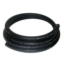 13mm Black 8 Metre Rubber Marine Fuel & Oil Hose