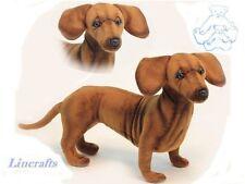 Standing Dachshund Plush Soft Toy Dog by Hansa 6420