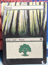 MTG 1x FOREST -- HAND PAINTED ALTERED EXTENDED ART magic the gathering