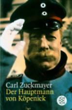 Der Hauptmann von Kopenick: Ein deutsches Märchen in drei Akten, Zuckmayer, Carl