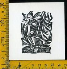 Ex Libris Originale Alexandro Radulescu c 107