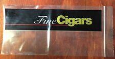 100pc 5 X 10 Clear Zip Lock Zipper Fine Cigar Bags 2 Mil Poly