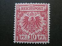 Deutsches Reich MiNr. 47 d  postfrisch** BPP GEPRÜFT (Z 525)