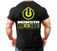 New Men's Monsta Clothing Fitness Gym T-shirt - Monsta Mode