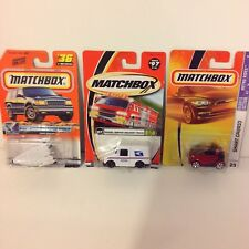 Matchbox lot of 3 X-33 FIRST EDITION, MAIL TRUCK, SMART CABRIO