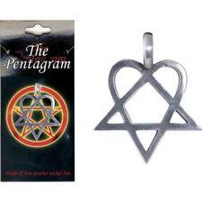 Pewter Pendant Pentagram Style 6
