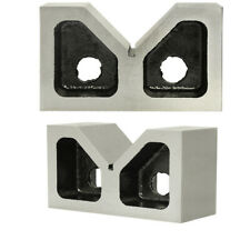 Pair 2 X 34 X 1 14 Cast Iron V Blocks V Block Ground Set