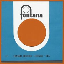 FONTANA REPRODUCTION RECORD COMPANY SLEEVES - (pack of 10)