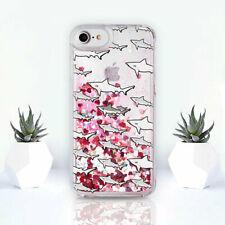 Sharks iPhone 6s Case Liquid iPhone 6 Plus Case Ocean iPhone 8 Case Sea iPhone X