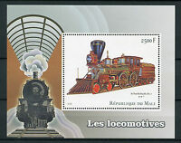 Mali 2016 MNH Locomotives Steam Engines 1v S/S Trains Railways Stamps