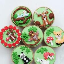 3D Animal Silicone Fondant Chocolate Mould Cake Icing Sugarcraft Molds Tool BB