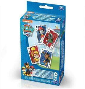 Spinmaster Paw Patrol - Poker Deck Casino Game (52 Sheet) Card Children