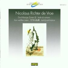 : Richter De Vroe. Durchlassige Zonen. Various Artists  CD NEUF