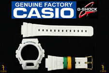 CASIO DW-6900R-7 G-Shock Original  White(Glossy Finish) BAND & BEZEL Combo Kit