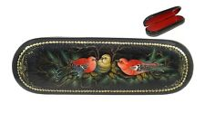 Palekh Russian Lacquer Box #3739 BIRDS - BULLFINCHES