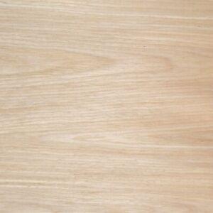 White Oak Veneer Crown Cut - REAL Wood - Fleece Backed | 2400mm x 300mm - 0.72m2