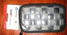 3DS-DSi-DS Lite Nintendo Bubble Zip Case - Black&Clear - New! Free Shipping!