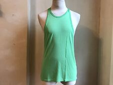 DSQUARED² COOL SUMMER STRETCH LIME GREEN RACERBACK TANK T SHIRT SINGLET XL ITALY