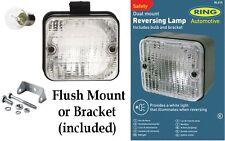 Bague Carré Support Dual Mount Recul Transparent Lampe E- Marqué Rl015