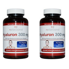 Hyaluronsäure Kapseln 360 Kapseln a 300mg Hyaluron - Gelenke Haut - Anti Aging
