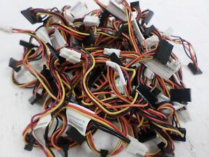 33 x Lenovo 4-Pin SATA Power Cables for Lenovo ThinkCentre M90P M91P PCs 45J9583