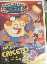 DVD I CARTONI DELLO ZECCHINO D'ORO RADIO CRICETO 33 n 9