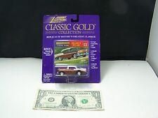 Johnny Lightning Classic Gold 1956 Chevy Bel Air - Metal on Metal - RR - 1998
