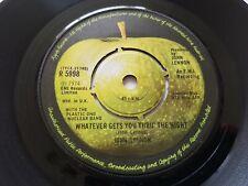 """JOHN LENNON WHATEVER GETS YOU THRU THE NIGHT UK APPLE 7"""" vinyl BEATLES"""