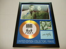 BROS    SIGNED  GOLD CD  DISC  NEW