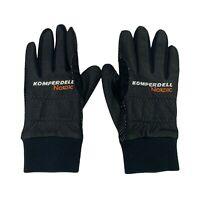 Komperdell Nordic Ski Gloves Men's Size Small Black Waterproof Breathable Winter