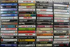 PICK 4 Cassettes For 11.99! Rock Country Blues Comedy R&B Rap Pop Jazz Classical
