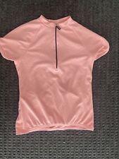 Women's Trek Short Sleeve Hiking/Biking Shirt .Coral .Size Medium