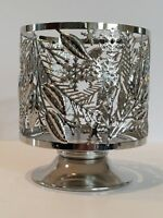 BATH & BODY WORKS WINTER GREENERY METAL LARGE 3 WICK 14.5 OZ CANDLE HOLDER NEW