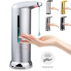 Care Touchless Automatic IR Sensor Soap Dispenser Stainless Steel Handsfree