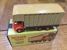 Budgie Toys Cattle Truck Leyland 20H9 Boxed Excellent