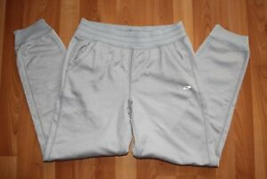 Champion Duo Dry Juniors Sz XL (14-16) Gray Brushed Back Warm Long Active Pants
