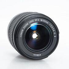 AS-IS Canon EOS EF-S 18-55mm IS II Autofocus Zoom Lens Broken AS IS 45121603