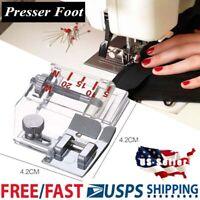 Nähmaschine Haus  Fuß Snap Clip auf Presser Sew Teile ST