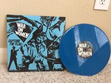 War On Women Capture The Flag Vinyl 1st Pressing Rare Blue