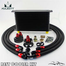 13 Row AN10 Trust Oil Cooler Filter Relocation Kit For Toyota Suzuki Subaru WRX
