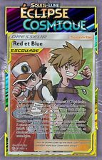 Red And Blue - SL12: Éclipse Cosmic - 234/236 - Pokemon Card New French