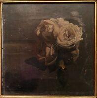 ANTIQUE 1874 BRITISH IMPRESSIONIST LANCASHIRE UK FINE PAINTING WALTER CROWLEY