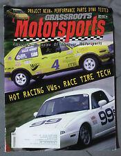 GRASSROOTS MOTORSPORTS MAGAZINE AUTO 1996 SEPTEMBER OCTOBER MIATA VW GTI GOLF
