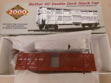 HO SCALE PROTO 2000 NORTHERN PACIFIC #80081 40' DOUBLE DECK STOCK CAR KIT