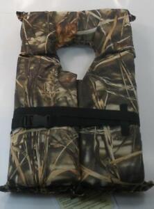 Onyx 4270-9345 Realtree Max4 Camo Type II Life Safety Vest 17789